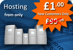Hosting from only £1.00